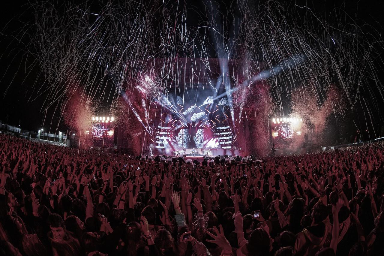 El Coca-Cola Music Experience triunfa pasado por agua