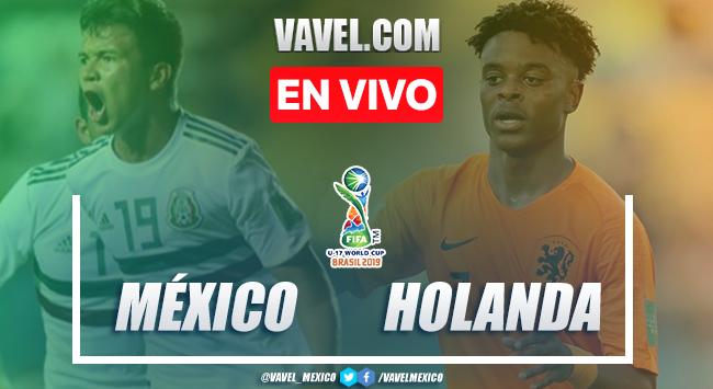 Penaltis, goles y resumen México Sub-17 4-3 Holanda Sub-17 en Mundial 2019