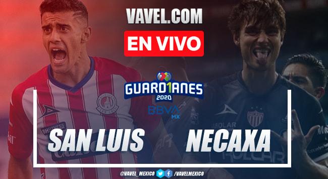 Goles y resumen: Atlético de San Luis2-1 Necaxa en Guardianes 2020