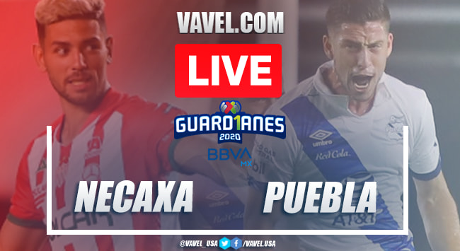 Goals and Highlights Necaxa 0-1 Puebla, Guard1anes 2020 Liga MX