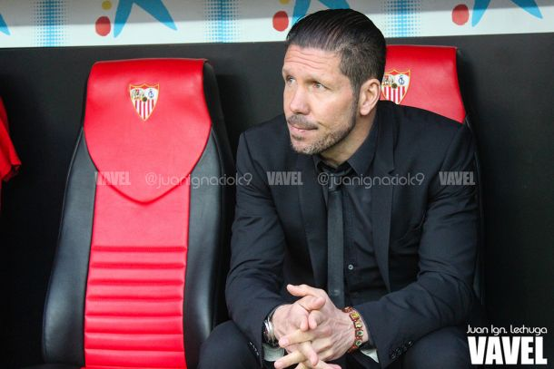 Simeone iguala a Antic