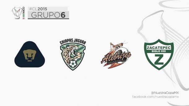 Pumas ya conoce sus rivales en la próxima Copa Mx