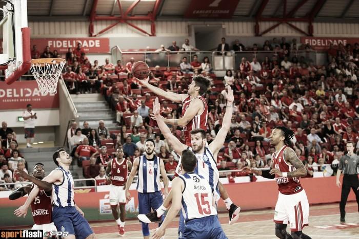 Basquetebol: Benfica vence Porto sem problemas