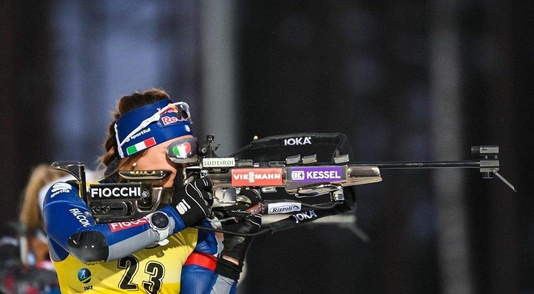 Dorothea Wierer première gagnante de cette nouvelle saison de biathlon.