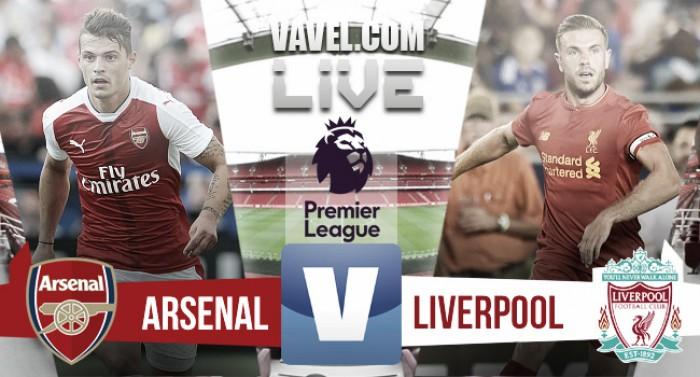 Live Arsenal - Liverpool, Premier League 2016/17: (3-4) Coutinho e Mane sbancano Emirates Stadium!