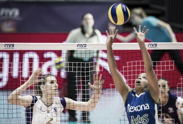 Rio de Janeiro sofre, mas vence Volero Zurich na estreia do Mundial de Clubes