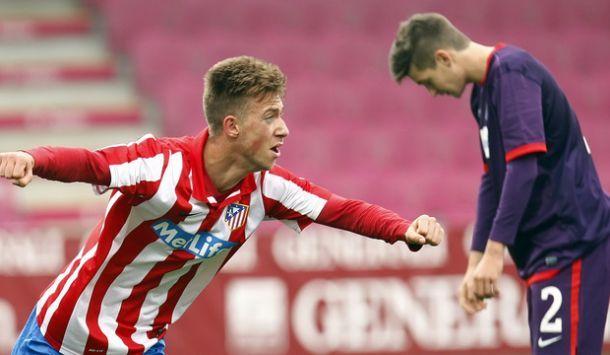 Rober aúpa al Atlético de Madrid hasta el liderato en la UEFA Youth League