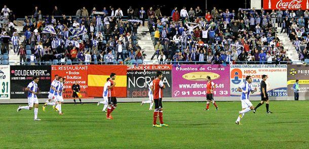 Dos victorias verdiblancas en las dos visitas al CD Leganés