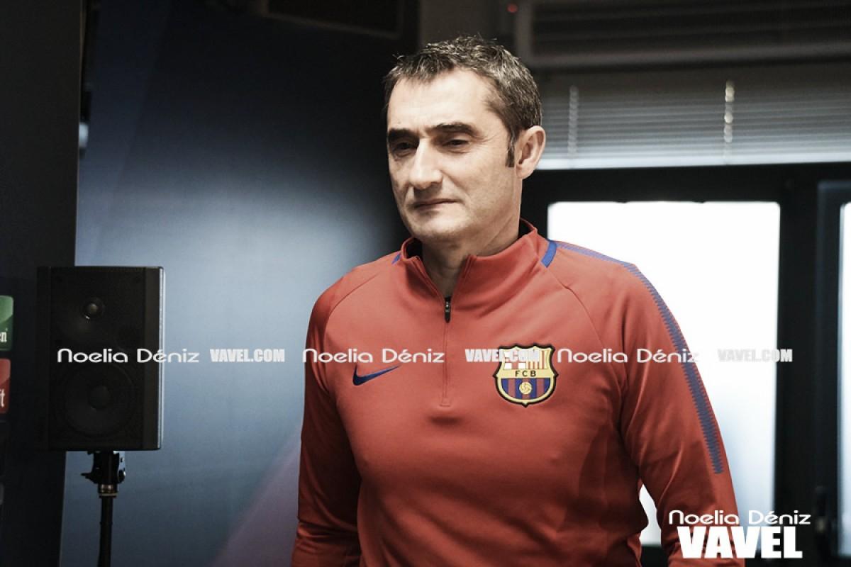 """Ernesto Valverde: """"El público ha hecho más especial la despedida de Iniesta"""""""