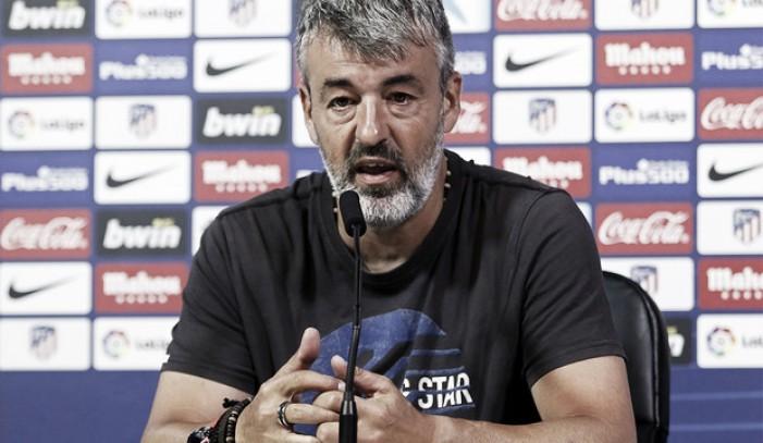 """Óscar Fernández: """"Tenemos que corregir, mejorar y seguir con los pies en el suelo"""""""