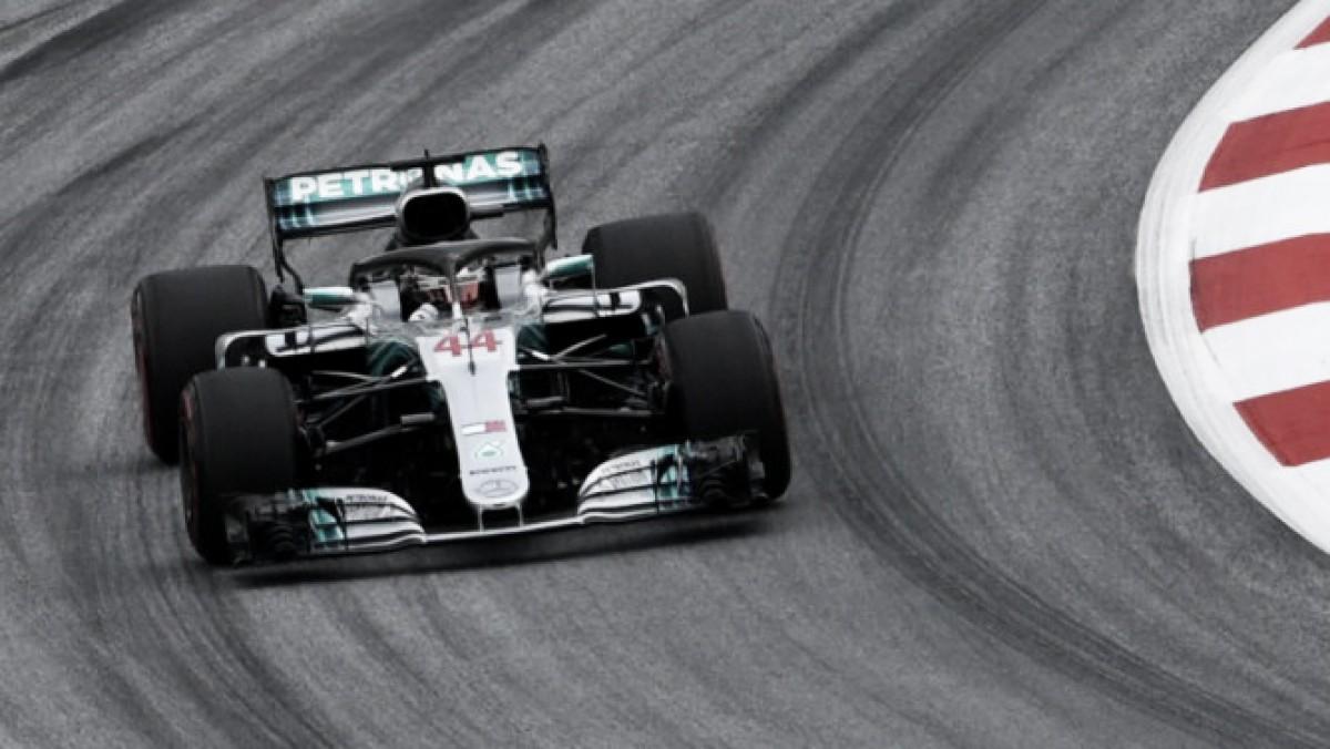 Mercedes dominó el viernes en Austria