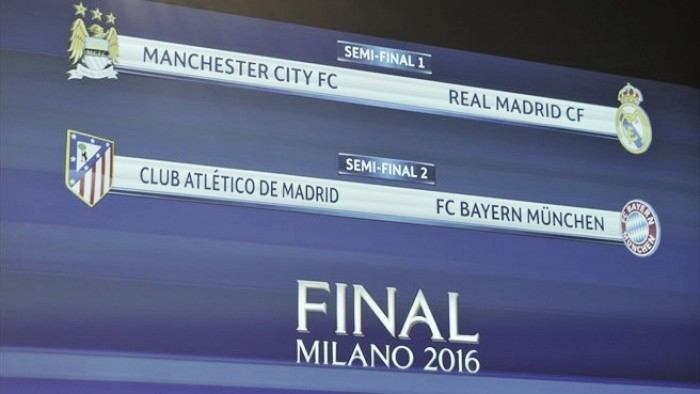 Real Madrid - Manchester City e Atlético de Madrid - Bayern de Munique:  UEFA Champions League, a emoção continua brilhante
