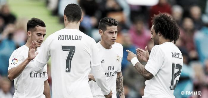 BBC tripla selvagem:  Real Madrid atropela Getafe e fica a 1 ponto do Barcelona