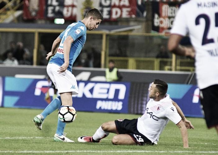 Bologna sconfitto dal Napoli Donadoni
