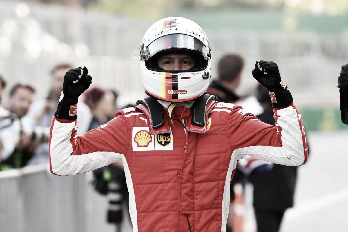Vettel es el poleman en Azerbaiyán