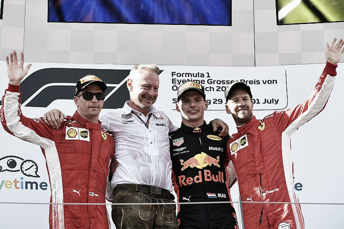 Verstappen y Red Bull dan en la tecla