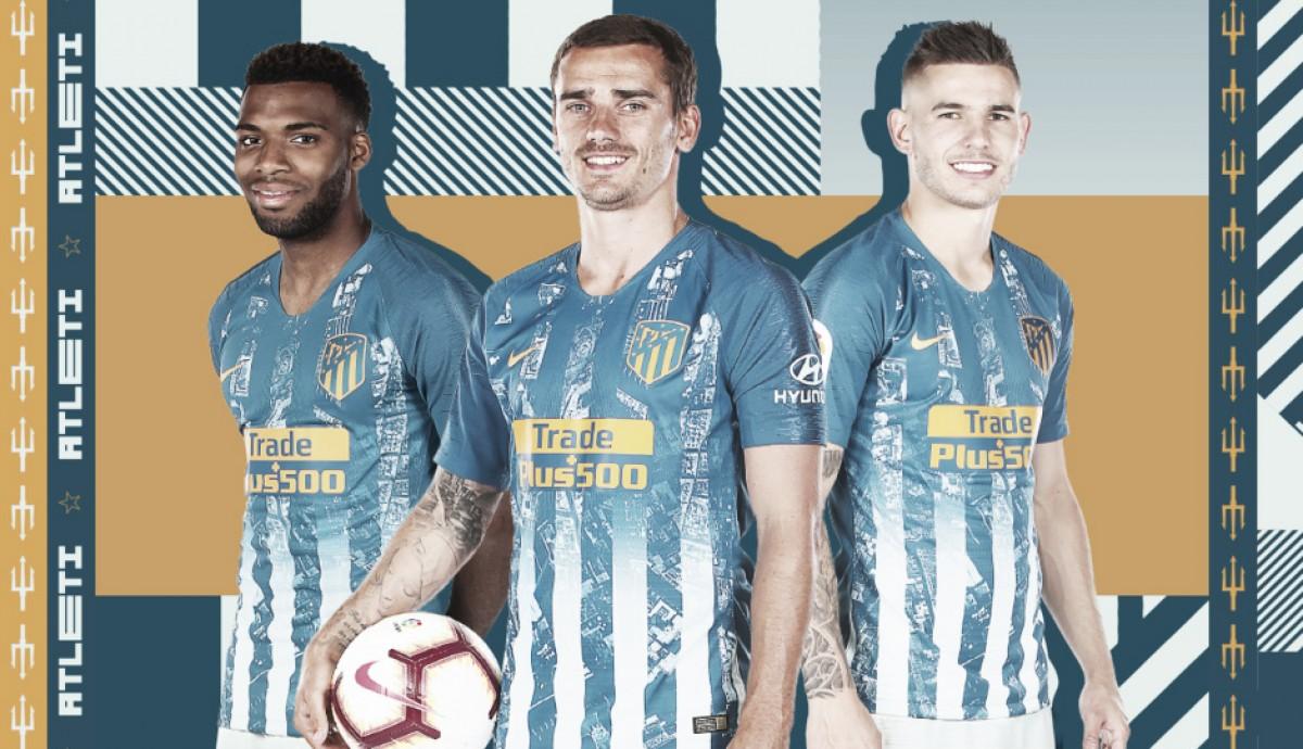 Atlético de Madrid anuncia terceiro uniforme para a temporada 2018-19