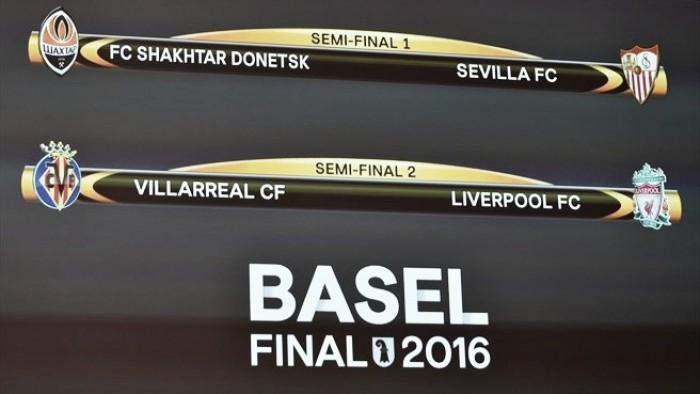 Villarreal - Liverpool e Shakhtar - Sevilla: Liga Europa ao nível da Champions