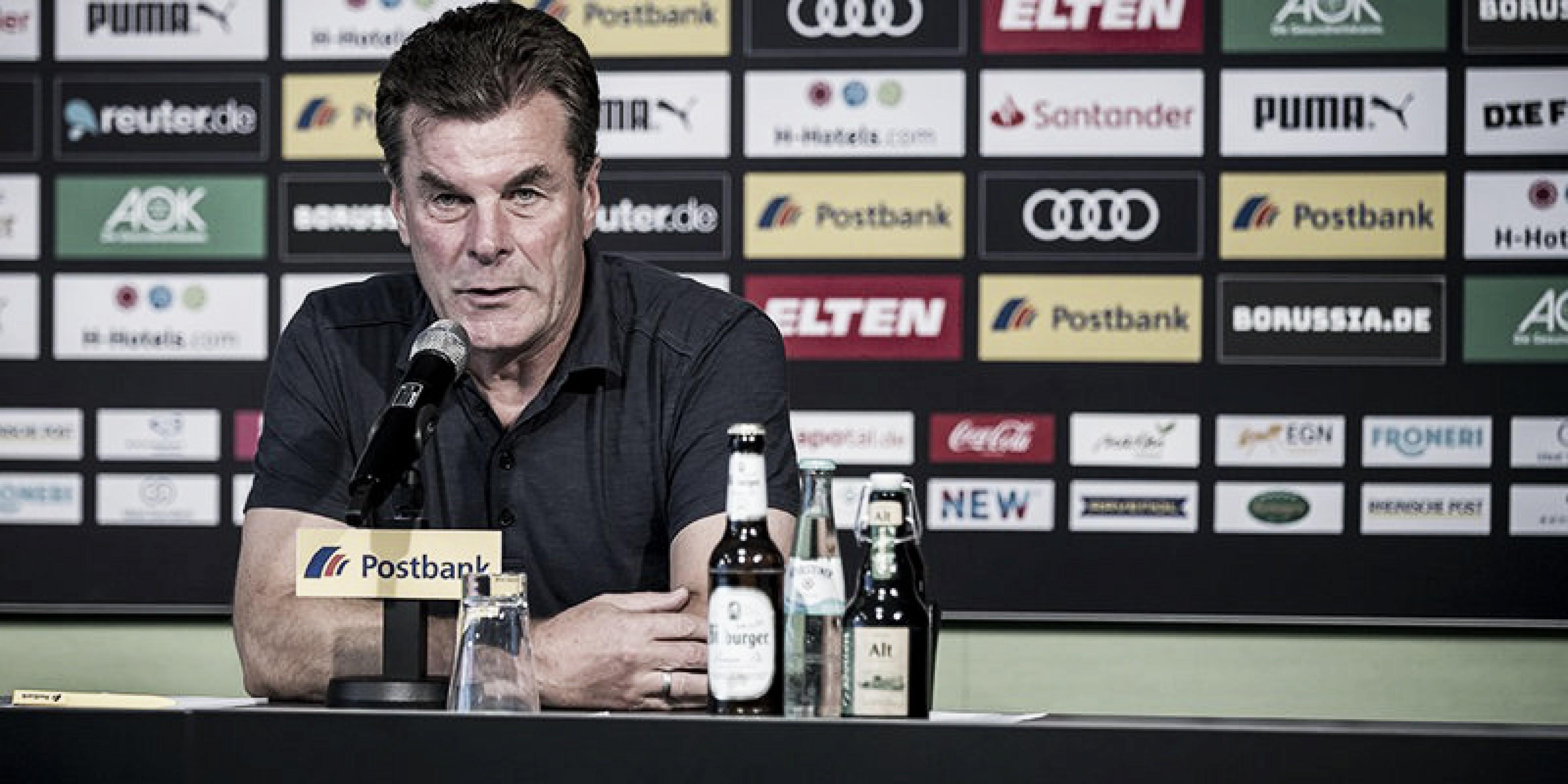 """Hecking admite queBorussia Mönchengladbach mereceu revés: """"Podemos nos culpar"""""""