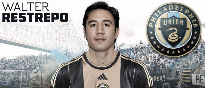 Walter Restrepo, nuevo jugador del Philadelphia Union