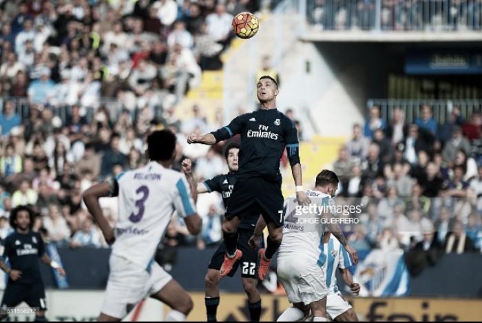 Liga BBVA: Real Madrid apagado empata a uma bola em Málaga