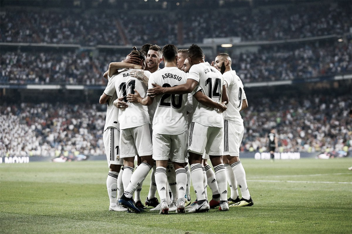 Real Madrid triunfa sobre Leganés dentro de casa e assume liderança na La Liga