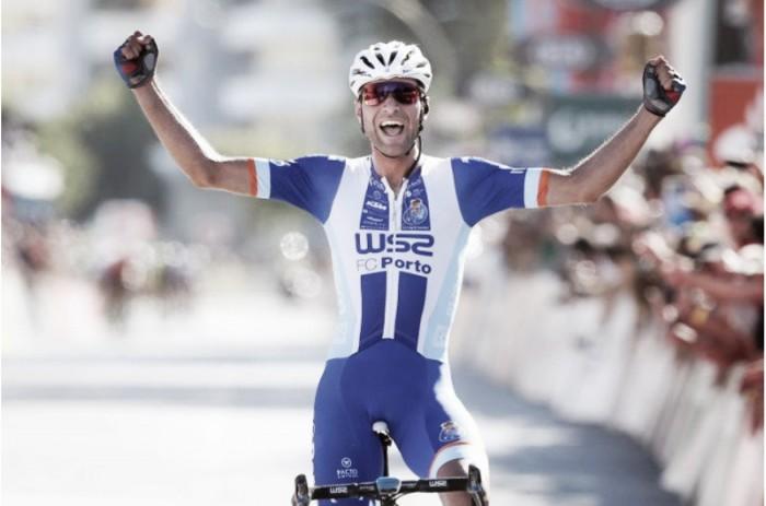 Samuel Caldeira vence segunda etapa da Volta a Portugal