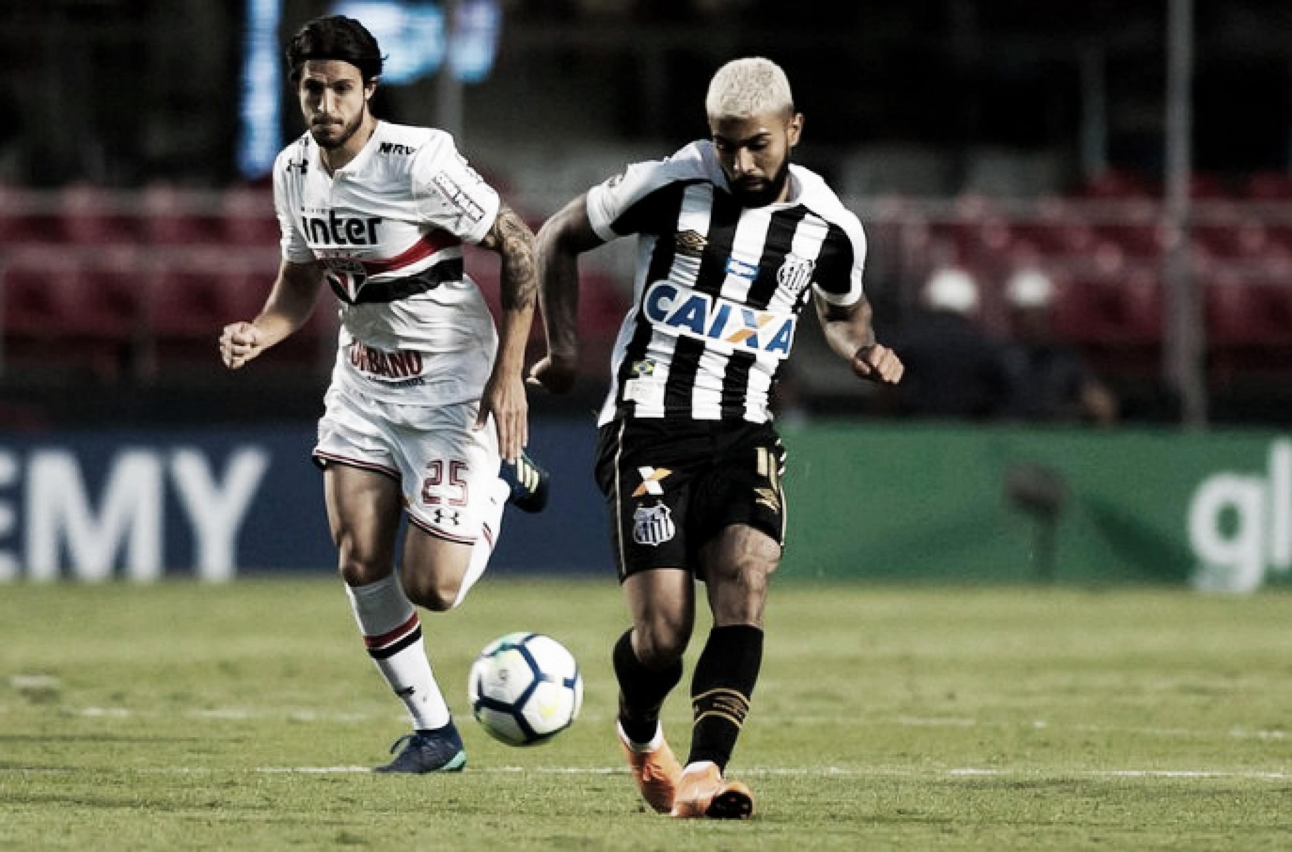 Clássico dos gigantes: em boa fase, Santos recebe o São Paulo na Vila Belmiro