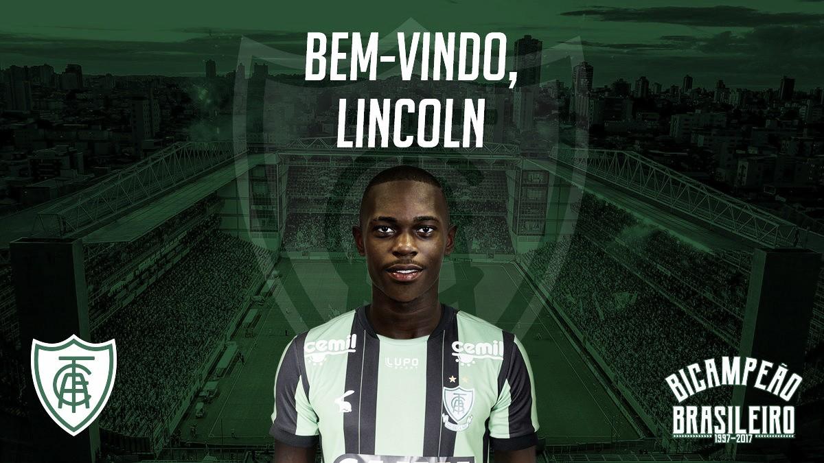 América-MG oficializa contratação do meia Lincoln, ex-Grêmio