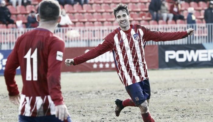 Jorge Ortiz cae de pie en el Atlético B