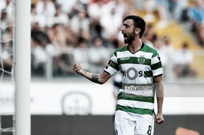 Sporting conquista Guimarães: D. Dost e D. Bruno, os reis do golo