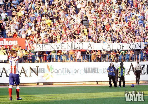 """Griezmann, """"bienvenido al Calderón"""""""