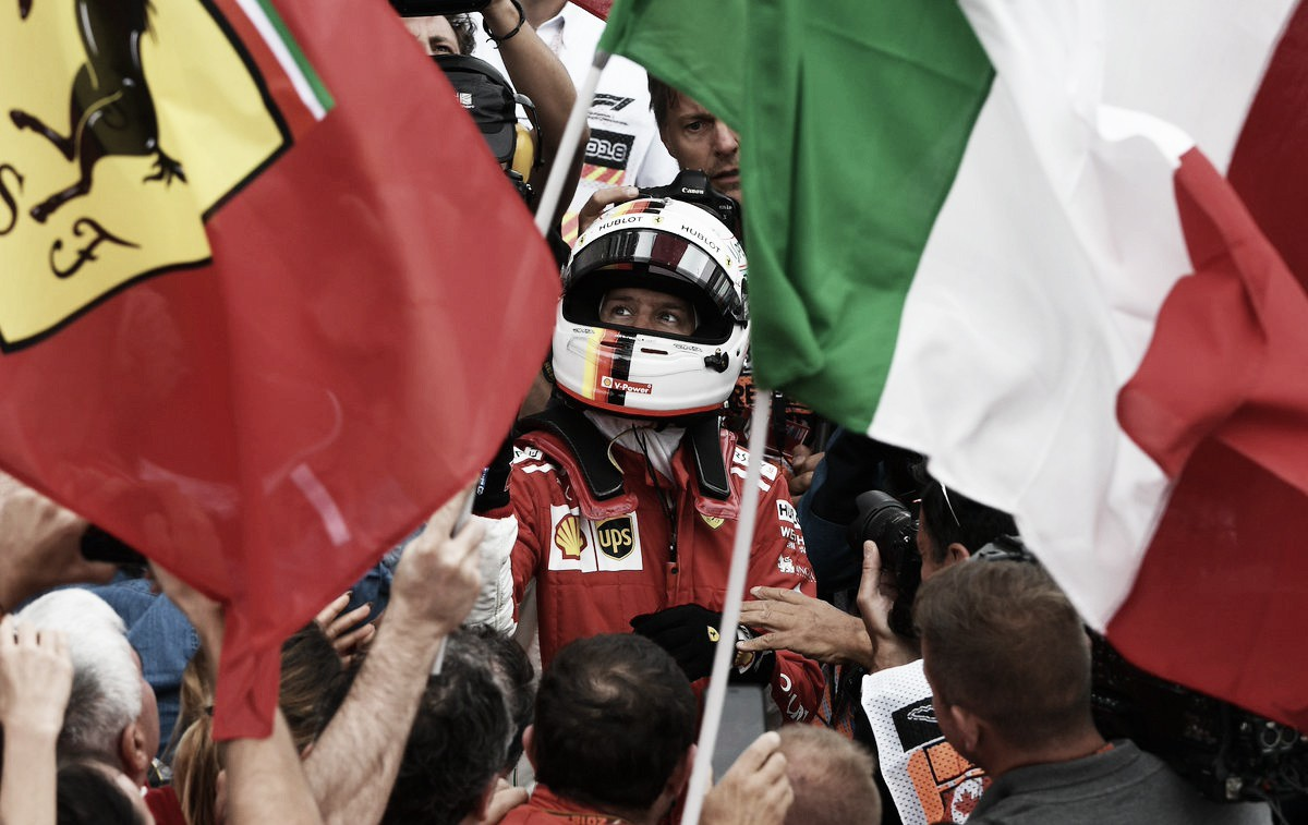 Vettel, de punta a punta