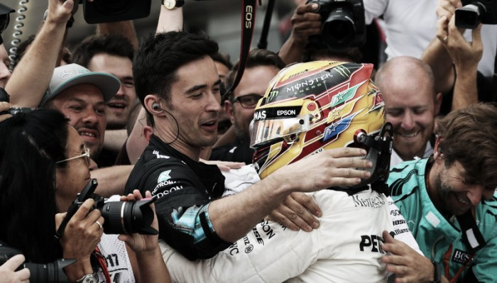 Hamilton triunfó en Silverstone
