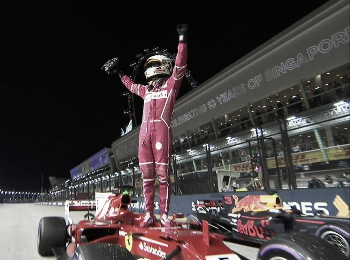Vettel, el dueño de la pole