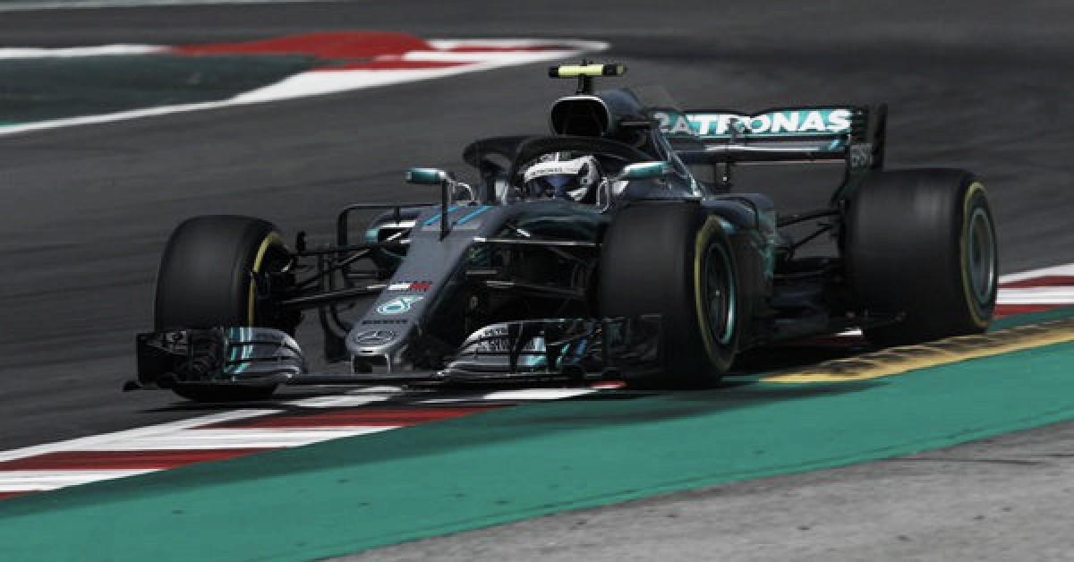 Mercedes dominó a gusto en Barcelona