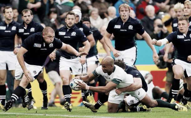 South Africa 34-16 Scotland: Springboks back to their best after beating battling Scots
