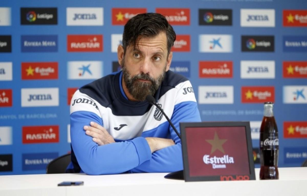 """Quique Sánchez Flores: """"Nos vemos reflejados en la Real Sociedad"""""""