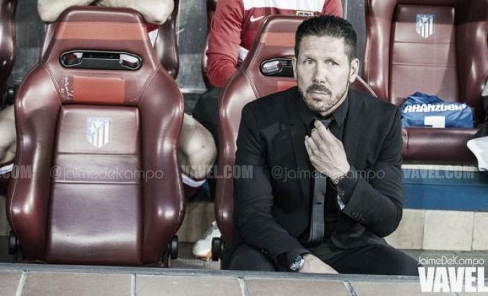 """Simeone: """"He reducido el contrato, pero todo sigue igual"""""""