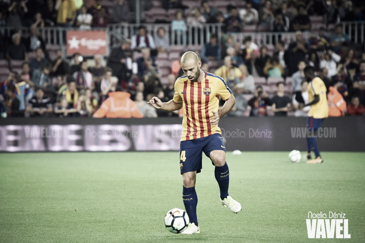 "Mascherano: ""La temporada ha sido muy buena"""