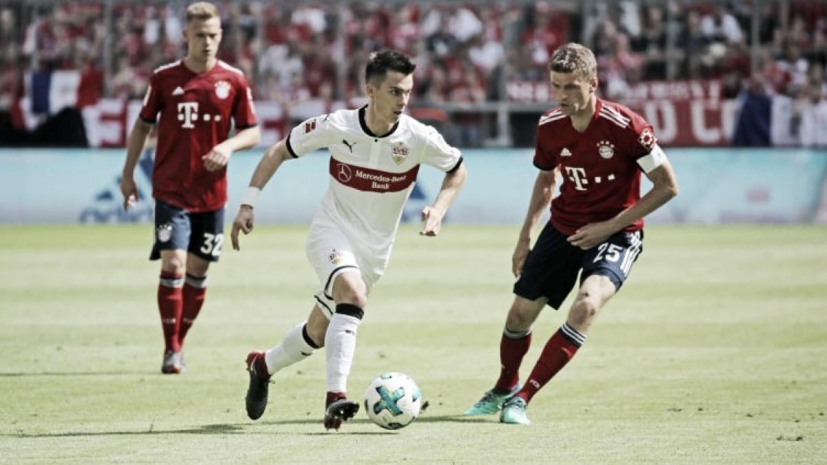 Resultado Stuttgart 0 x 3 Bayern de Munique pela Bundesliga 2018-19