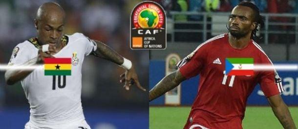 Résultat Guinée Equatoriale 0-3 Ghana en CAN 2015