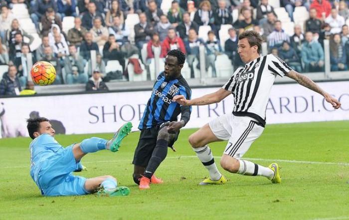 Juventus - Atalanta terminata in Serie A 2016/17 (3-1): Alex Sandro-Rugani-Mandzukic!