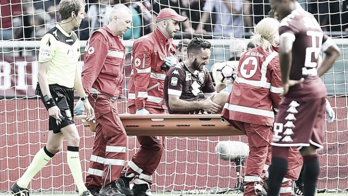 Torino, brutta tegola per Mihajlovic: rottura del crociato per Molinaro, rischia sei mesi di stop