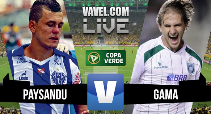 Paysandu x Gama na Final Copa Verde 2016 (2-0)