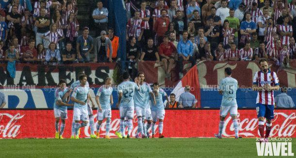 El Atlético de Madrid se vuelve frágil