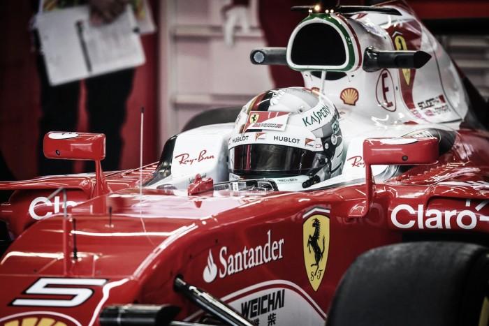 Sorpresa de Vettel