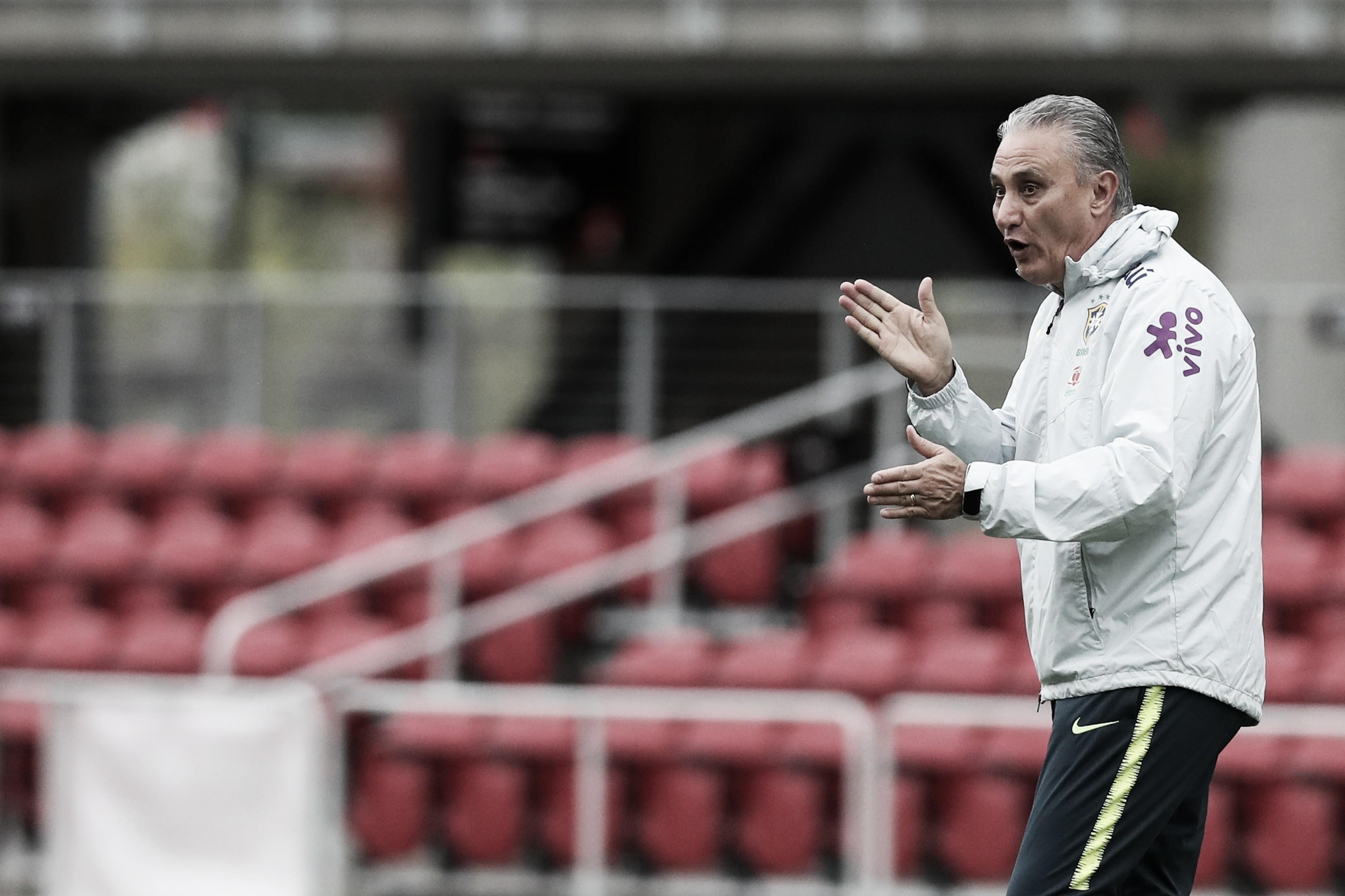 """Após triunfo, Tite ressalta desempenho da Seleção Brasileira: """"A ideia do futebol permanece"""""""