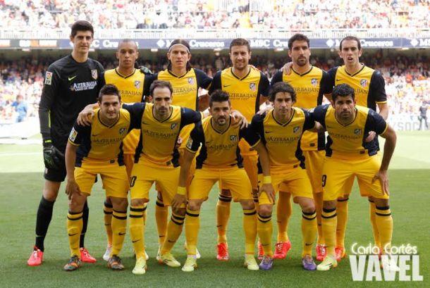 El Atlético de Madrid bate su récord de puntos en una Liga