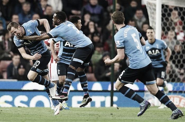 Premier League, è Tottenham show con Kane e Alli: Stoke spazzato via 0-4 al Britannia